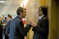 Peter Capaldi as Malcolm and Chris Addison as Toby in
