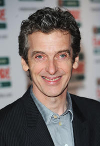 Peter Capaldi at the Jameson Empire Film Awards in England.
