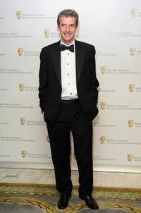 Peter Capaldi at the British Academy Television Craft Awards.
