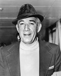Anthony Quinn photograph taken in April 1973 in France.