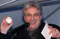 Harold Ramis at an auction to benefit the Juvenile Diabetes Research Foundation.