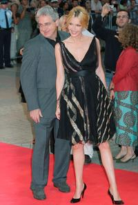 Harold Ramis and Connie Nielsen at the 31st Deauville Film Festival premiere of
