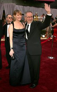 Kate Capshaw and Steven Spielberg at the78th Annual Academy Awards at the Kodak Theatre.