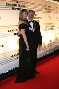 Kate Capshaw and Steven Spielberg at the 29th Annual Kennedy Center Honors.