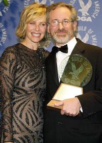Kate Capshaw and Director Steven Spielberg at the 52nd Annual Directors Guild of America (DGA) Awards.