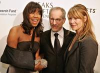 Kate Capshaw, Natalie Cole and Steven Spielberg at the EIF's Women's Cancer Research Fund honoring Melissa Etheridge at Saks Fifth Avenue's Unforgettable Evening.