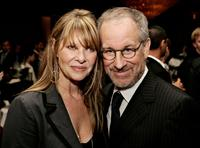 Kate Capshaw and Steven Spielberg at the EIF's Women's Cancer Research Fund honoring Melissa Etheridge at Saks Fifth Avenue's Unforgettable Evening.