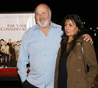 Rob Reiner and wife Michele Singer at the Los Angeles premiere of