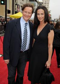 Judge Reinhold and Amy Reinhold at the premiere of