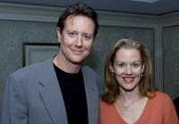 Judge Reinhold and Ann Miller at the Televison Critics Association Summer Tour.