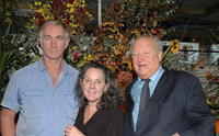 John Sayles, Maggie Renzi and Bobbie Zarem at the lunch honoring John Sayles.