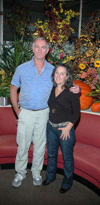 John Sayles and Maggie Renzi at the Savannah Film Festival.