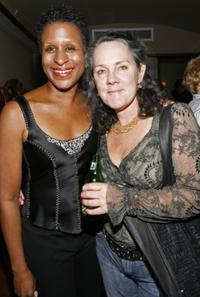 Michelle Byrd and Maggie Renzi at the after-party for the opening night of