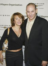 Cheri Oteri and Paul Reubens at the Penny Marshall's birthday party.