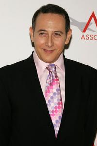 Paul Reubens at the AFI Associates luncheon.