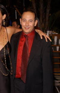 Paul Reubens at the Vanity Fair Oscar Party.