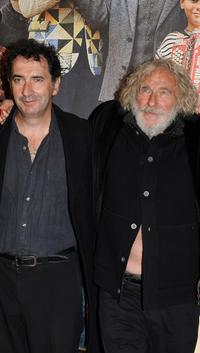 Francois Morel and Pierre Richard at the premiere of
