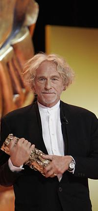Pierre Richard at the 31st Nuit des Cesar, France's top movie awards.
