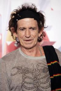 Keith Richards at the press conference of