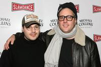 Adam Rifkin and Brad Wyman at the premiere of