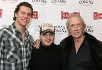 Hayes MacArthur, Adam Rifkin and David Carradine at the premiere of