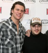 Hayes MacArthur and Adam Rifkin at the premiere of