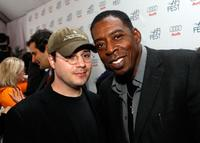Adam Rifkin and Ernie Hudson at the luncheon and dialogue event celebration of