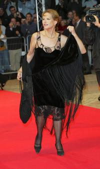 Claudia Cardinale at the premiere of