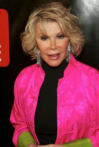 Joan Rivers at the TV Guides Launch of New Magazine.