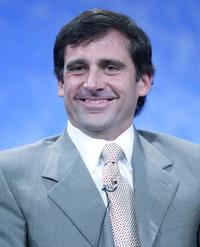 Steve Carell at the NBC 2005 Television Critics Winter Press Tour.