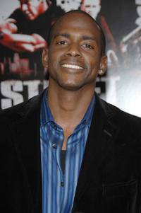 Keith Robinson at the premiere of