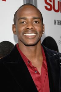 Keith Robinson at the world premiere of