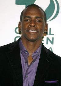 Keith Robinson at the Global Green USA 3rd annual pre-Oscar party.