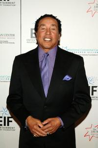 Smokey Robinson at the Hollywood Meets Motown benefit.