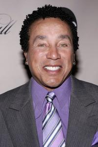 Smokey Robinson at the screening of