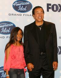 Lyric and Smokey Robinson at the American Idol Season 6 Finale.