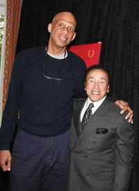 Kareem Abdul-Jabbar and Smokey Robinson at the Smokey Robinson Foundation's Join Us and