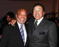 Berry Gordy and Smokey Robinson at the Smokey Robinson Foundation's Join Us and