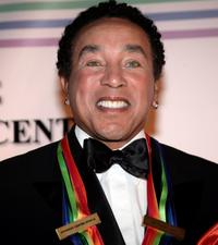 Smokey Robinson at the 30th Annual Kennedy Center Honors.