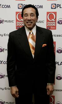 Smokey Robinson at the Q Awards 2006.