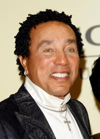 Smokey Robinson at the Sony/BMG Grammy party.