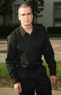 Henry Rollins at the season two premiere of
