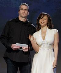 Henry Rollins and Rosie Perez at the Film Independent's 2006 Independent Spirit Awards.