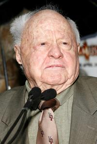 Mickey Rooney at the