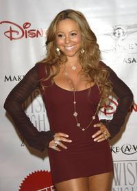 Mariah Carey at the 7th Annual Wish Night on behalf of the Make-A-Wish Foundation.