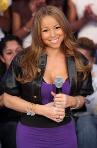 Mariah Carey at the BET's 106 & Park.