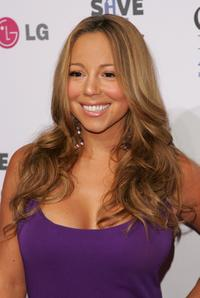 Mariah Carey at the VH1 Save The Music Foundation Gala.