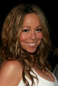 Mariah Carey at the Real White Party.