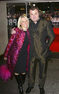 Paul Ross and his Wife at the UK Charity premiere of