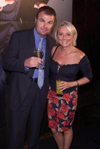 Paul Ross and his Wife at the premiere of